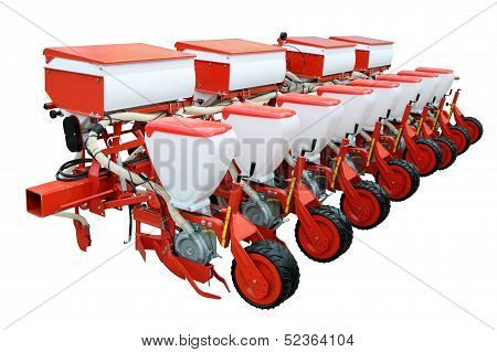 Red Modern Seeder
