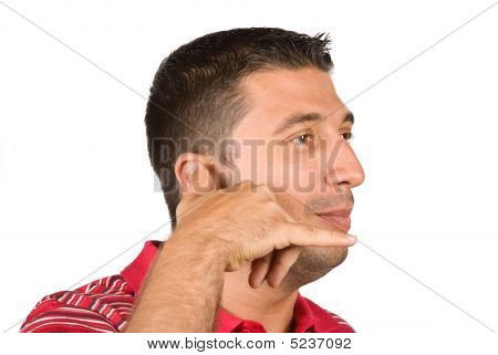 Phone Gesture Man