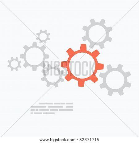 Diseño plano. Concepto de engranajes