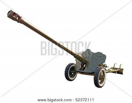 Large-caliber gun