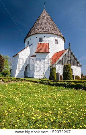 Round Church St. Ols Kirke on Bornholm