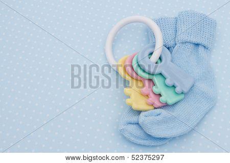 Blue Baby Background