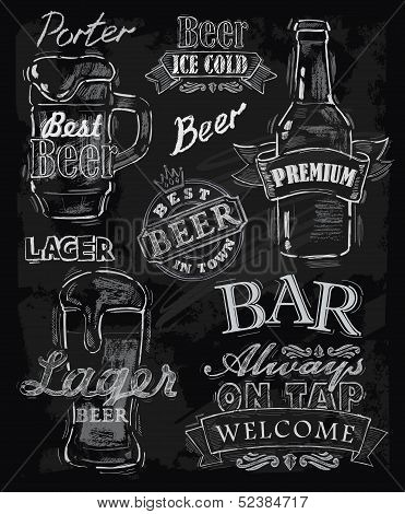 cerveza de tiza