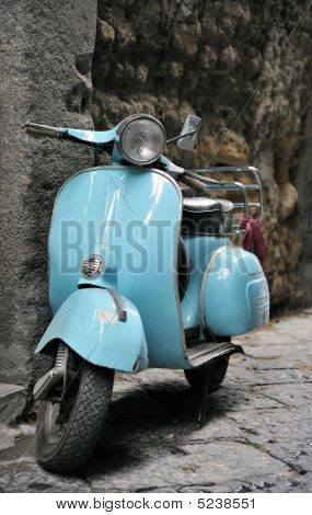 Classic Vespa Scooter