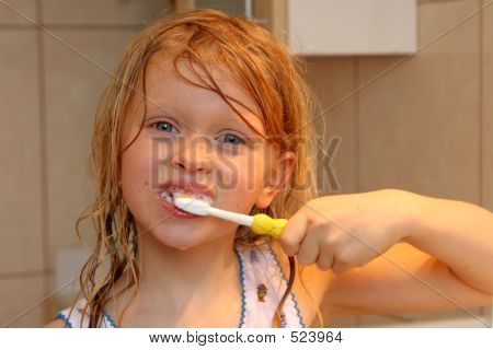 Brushing My Teeth