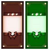 Greeting Cards Brown & Green