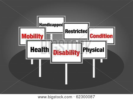 Disability signs