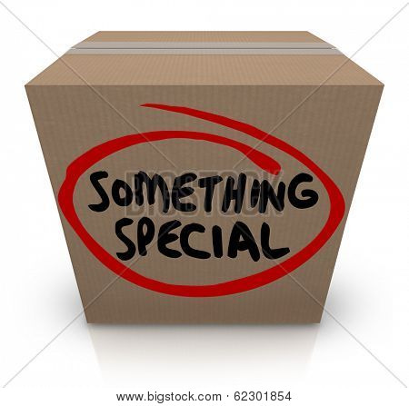 Something Special Cardboard Box Present Gift Delivery