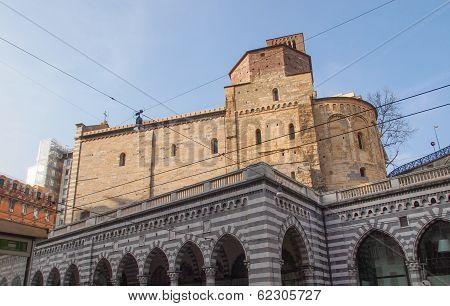 Santo Stefano Church In Genoa