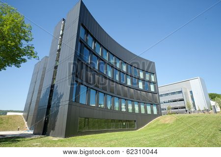 JENA, GERMANY - MAY, 08, 2011: ABBE Center of Photonics (ACP) am Campus Beutenberg in Jena. Gerrmany