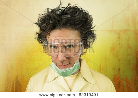 Portrait Of A Mad Scientist