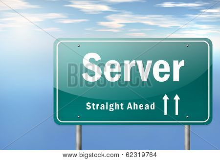 Highway Signpost Server