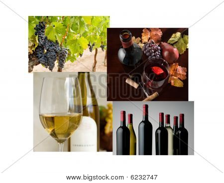 Wine Photo Collage