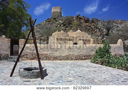 Old mosque in Bidiya, Fujairah, UAE