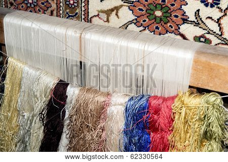 Frame For Making A Turkish Carpet
