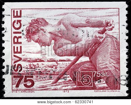 Lumberman Stamp