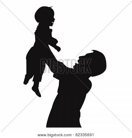 Father And Son, Isolated