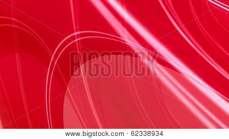 Red Glossy Elegant Abstract Background
