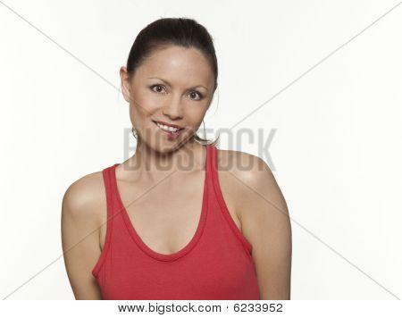 Cute Expressive Woman