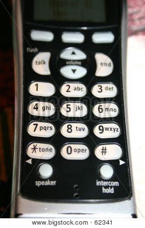 Teclas do telefone