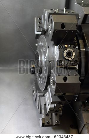 Spindle Modern Machine Tool.