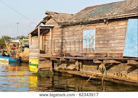 Slums in Cambodia
