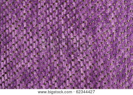 Pink Fur With Brown Strings