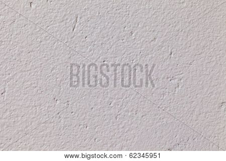 Concrete Wall With White Paint