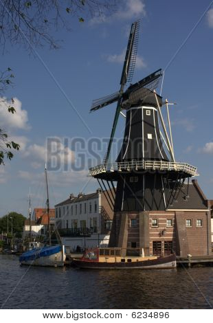Mill in Haarlem