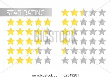 Star Rating Bars
