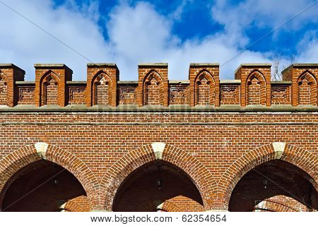 Rossgarten Gate - Fort Of Koenigsberg. Kaliningrad (until 1946 Konigsberg), Russia
