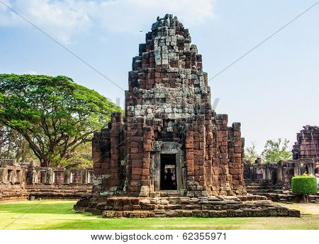 Phimai castle in Nakornrajsima from Thailand