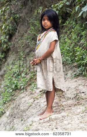 Kogi Indian Girl