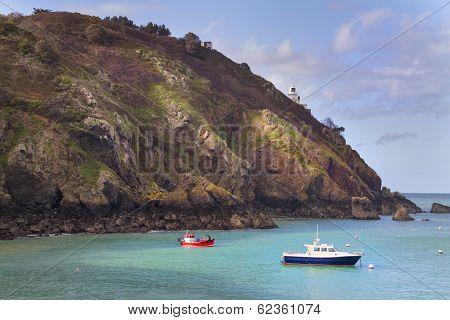 Coastal Scene On Sark