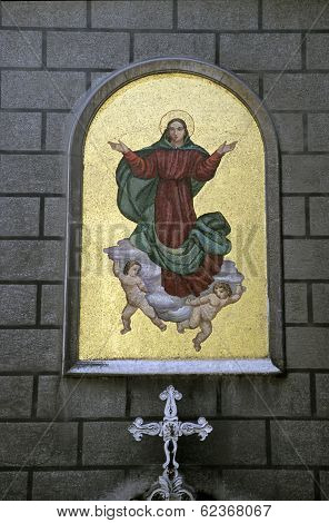 Santa Maria Draperis Church In Turkey