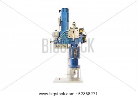 Self contained electro hydraulic servomotor