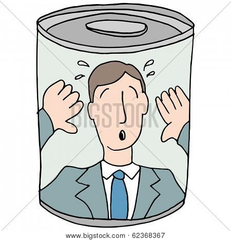 An image of a canned employee.