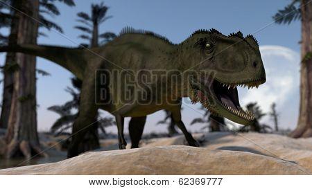 angry yanchuanosaurus