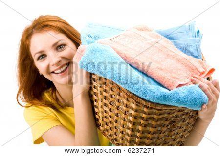 Happy Hausfrau