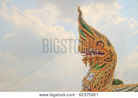 King of Nagas at Mahachulalongkornrajavidyalaya University