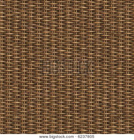 Wicker nahtlose Muster