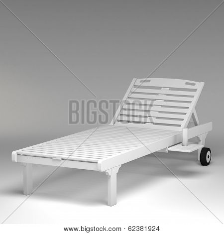3D Pool Daybeds