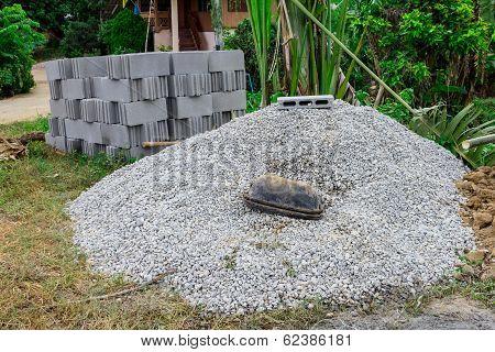 Concrete Blocks Pattern