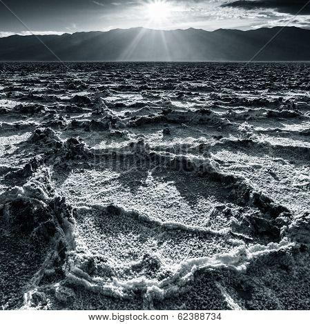 Badwater Landscape