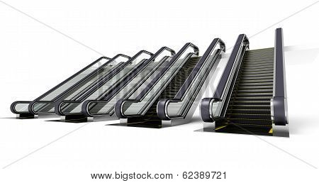 Four Escalator