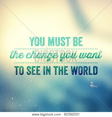 Quote Typographical Poster, vector design.