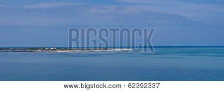 Santa Mavra area in Lefkas Greece