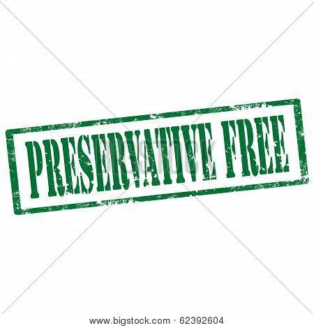 Preservative Free-stamp