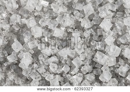 Large Crystals Of Sodium Chloride