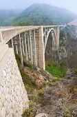 stock photo of bixby  - Bixby Bridge - JPG